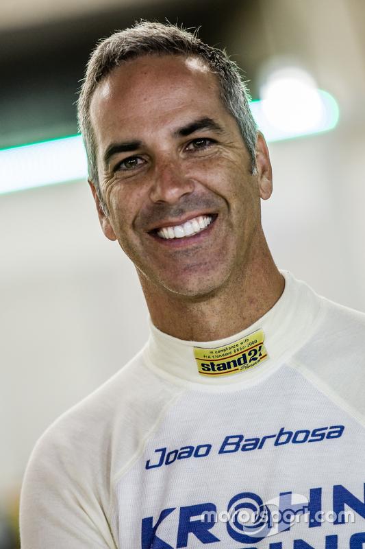 #40 Krohn Racing, Ligier JS P2: Joao Barbosa