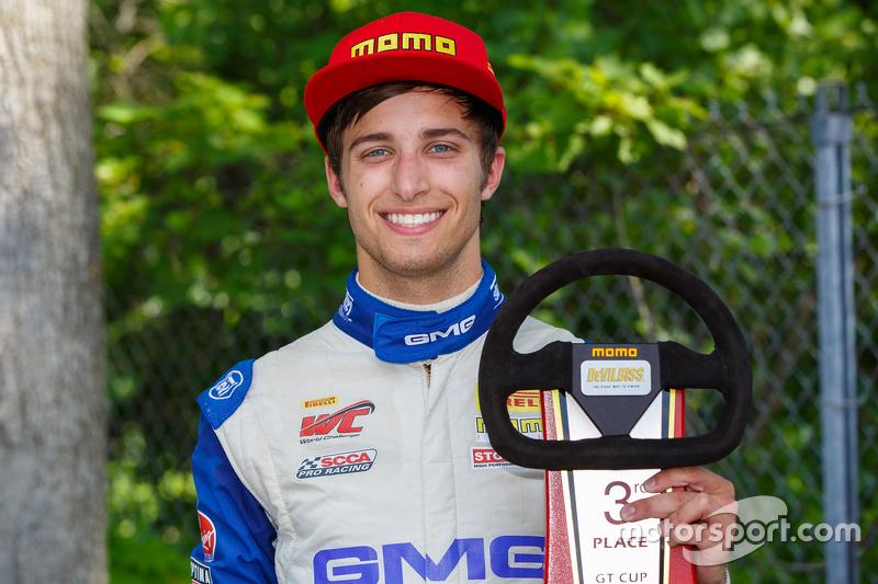 Peringkat ketiga #17 Global Motorsports Group Porsche 911 GT3 Cup: Alec Udell