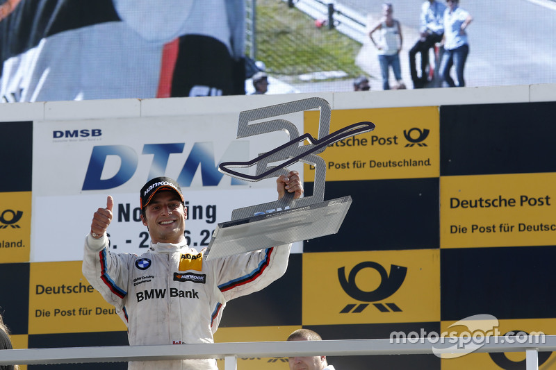 Podium: 3. Bruno Spengler, BMW Team MTEK, BMW M4 DTM