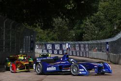 Salvador Durán, Amlin Aguri y Lucas di Grassi, Audi Sport Team ABT