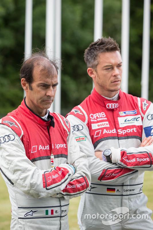 Emanuele Pirro and Andre Lotterer