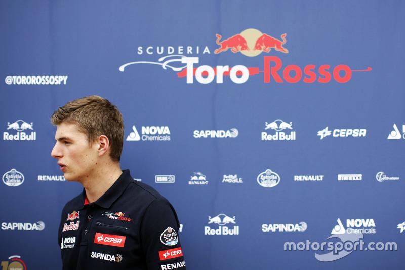 Max Verstappen, Scuderia Toro Rosso.