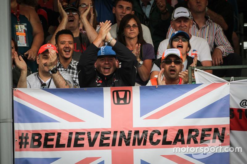 McLaren, Fans mit Flaggen