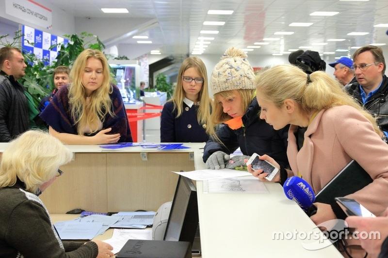 Старт продажи билетов на Гран При России-2015