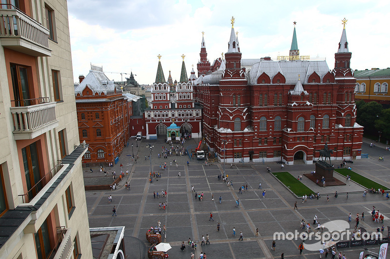 Moscow atmosphere