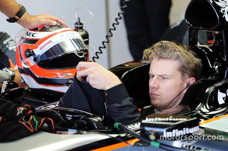 Nico Hulkenberg, Sahara Force India F1 VJM08