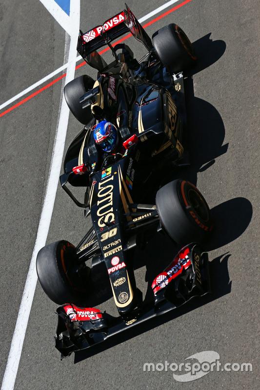 Jolyon Palmer, Lotus F1 E23 Test and Reserve Driver