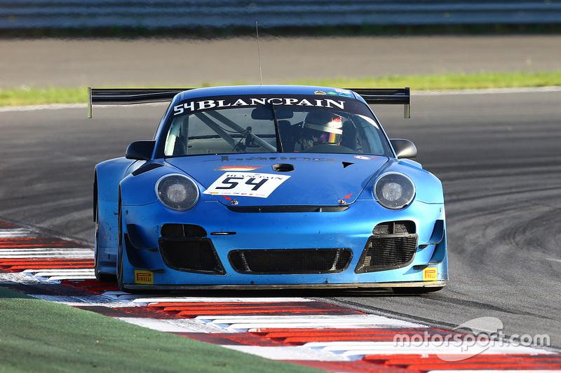#54 Attempto Racing Porsche 997 GT3R: Ivan Samarin, Sergii Chukanov