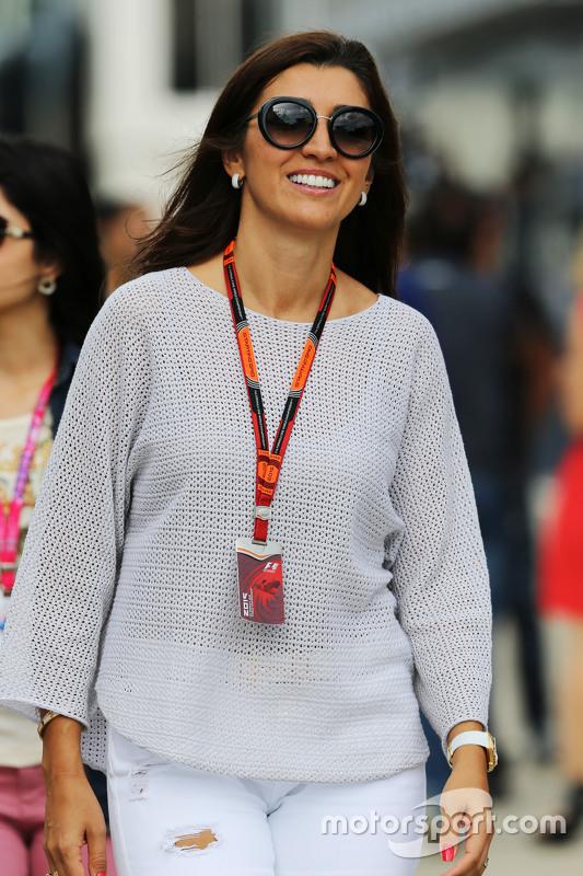 Fabiana Flosi, Frau von Bernie Ecclestone,