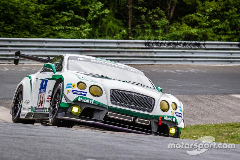 #84 Bentley Team, Bentley Continental GT3: Jeroen Bleekemolen, Lance David Arnold, Christian Menzel, Christopher Brück
