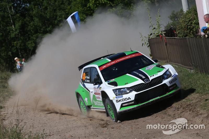 Pontus Tidemand und Emil Axelsson, Skoda Motorsport, Skoda Fabia R5