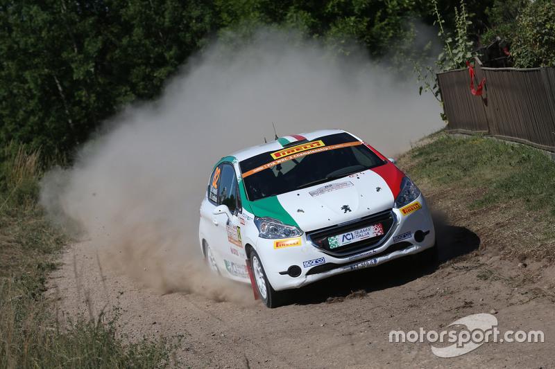 Giuseppe Testa e Emanuele Inglesi, Peugeot 208 R2