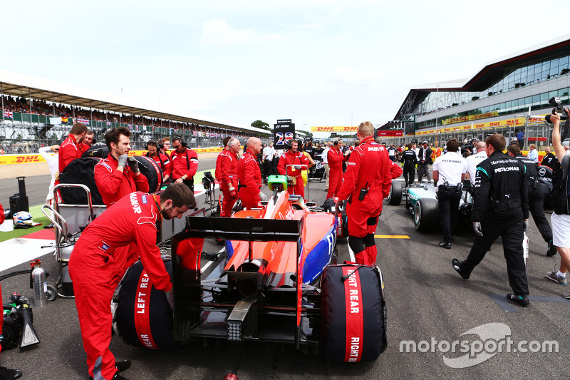 Will Stevens, Manor F1 Team di grid