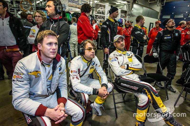 Marc VDS Racing: Nicky Catsburg, Augusto Farfus und Jörg Müller