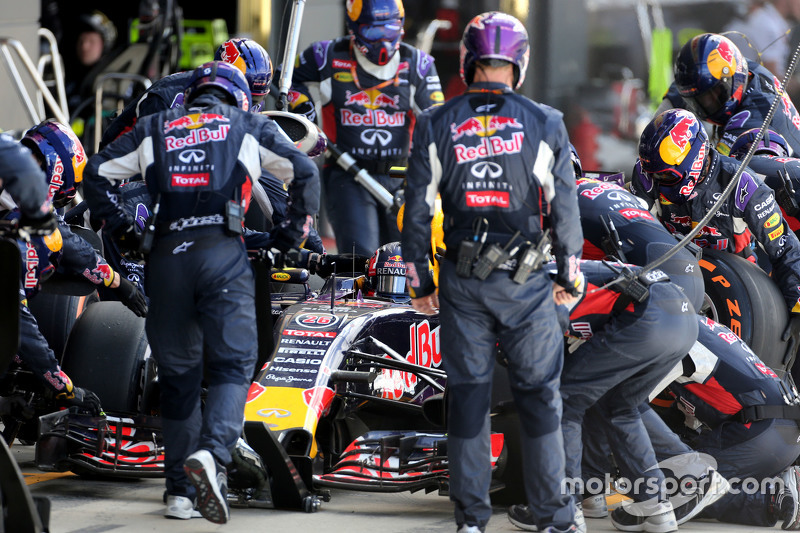 2. Red Bull Racing: 3 veces