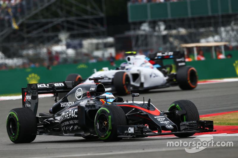 Fernando Alonso, McLaren MP4-30.