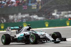 Nico Rosberg, Mercedes AMG F1 W06 sous la pluie