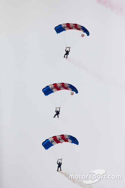 Royal Air Force Falcons Parachute Display Team