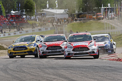 Andreas Bakkerud und Reinis Nitiss, Ford Olsbergs MSE Fiesta ST Supercar