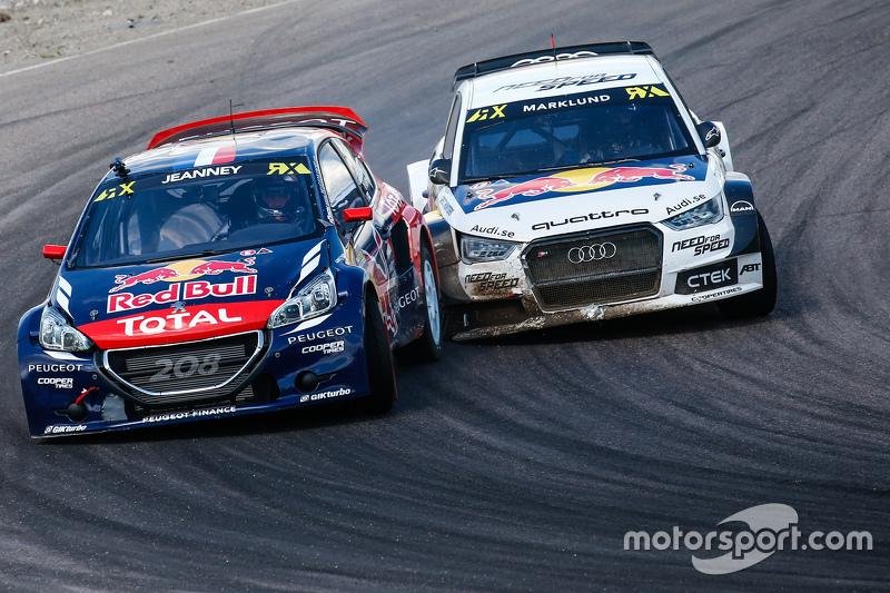 Davy Jeanney, Team Peugeot Hansen dan Anton Marklund, EKSRX Audi S1 quattro