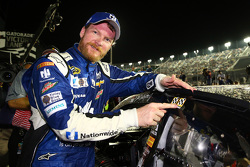 El ganador, Dale Earnhardt Jr., Hendrick Motorsports Chevrolet