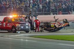 Das Unfallauto von Austin Dillon, Richard Childress Racing, Chevrolet