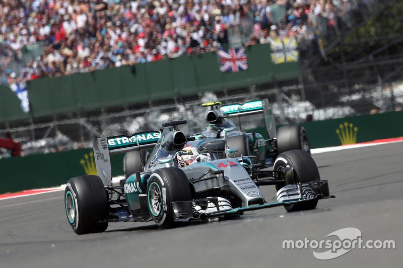 Lewis Hamilton, Mercedes AMG F1 W06 (2015)