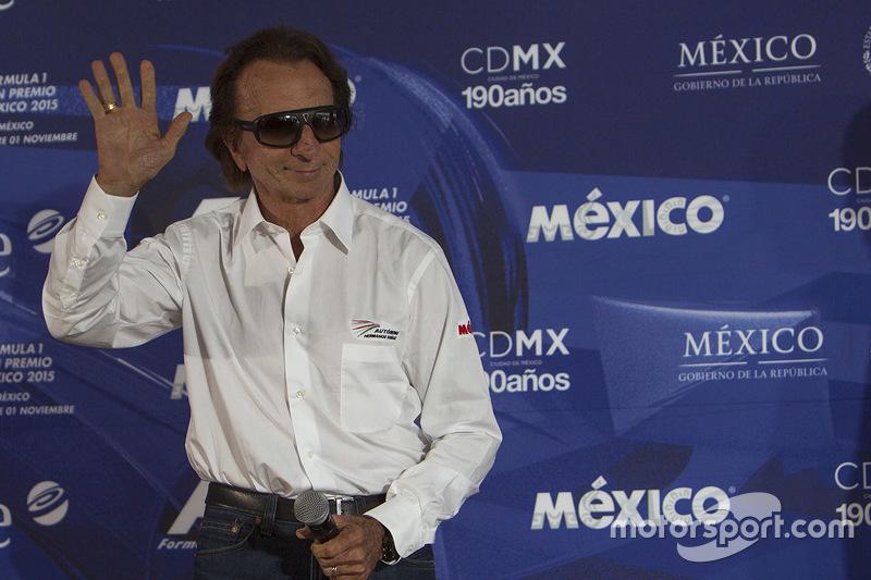 Emerson Fittipaldi, embaixador do GP do México