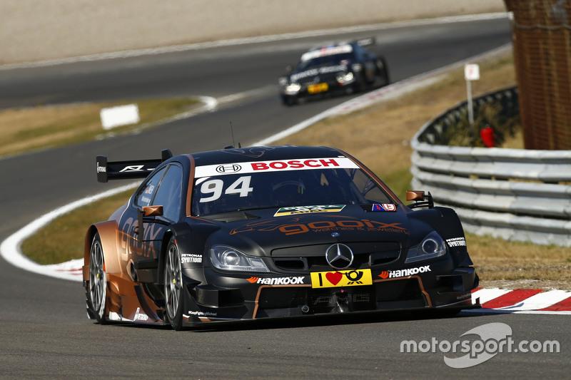 Pascal Wehrlein, HWA AG Mercedes-AMG C 63 DTM