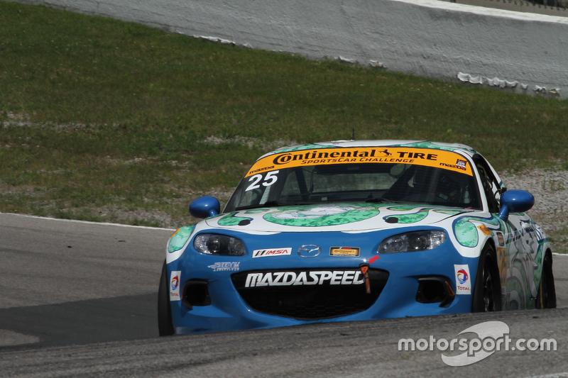 #25 Freedom Autosport Mazda MX-5: Britt Casey Jr., Tom Long