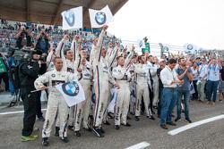 BMW Team RMG, perayaan, kemenangan dan P3