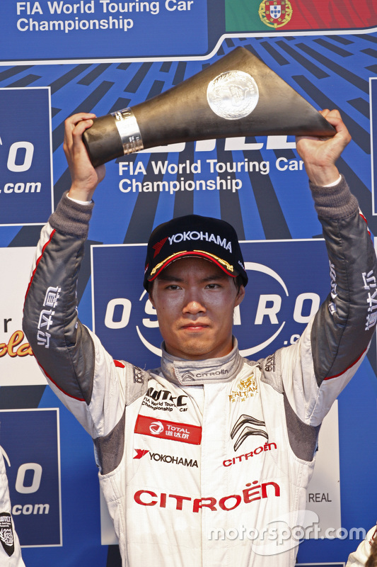 Winnaar Ma Qing Hua, Citroën C-Elysée WTCC, Citroën World Touring Car team