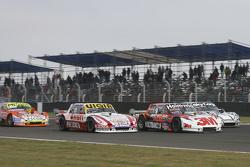 Juan Manuel Silva, Catalan Magni Motorsport Ford dan Mariano Werner, Werner Competicion Ford dan Laureano Campanera, Donto Racing Chevrolet