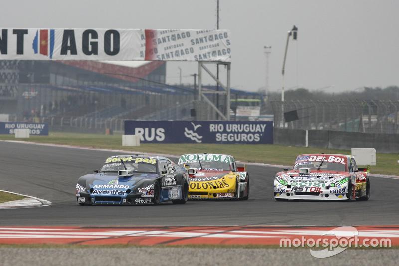 Diego de Carlo, JC Competicion Chevrolet dan Nicolas Bonelli, Bonelli Competicion Ford dan Juan Pabl