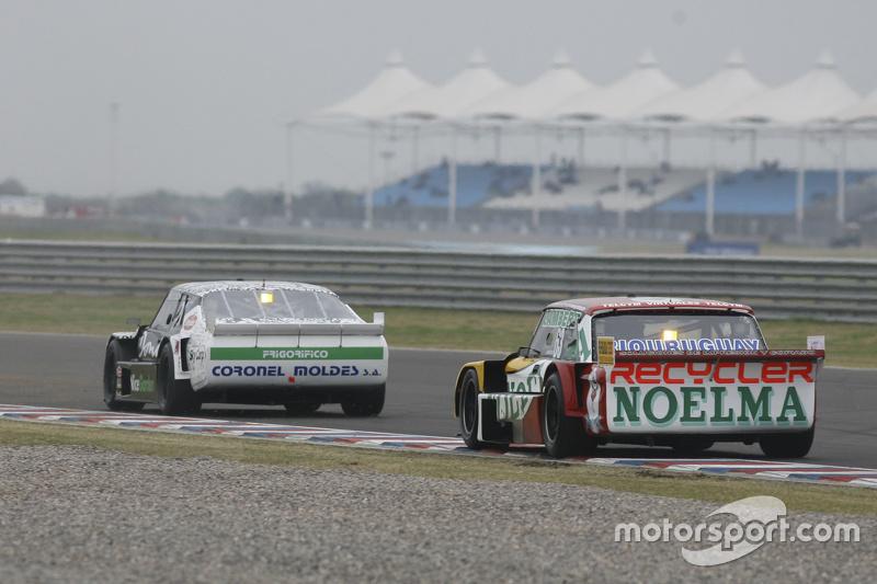 Laureano Campanera, Donto Racing Chevrolet, dan Pedro Gentile, JP Racing Chevrolet