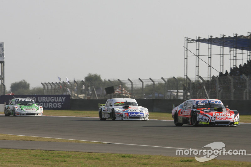 Guillermo Ortelli, JP Racing Chevrolet and Leonel Sotro, Alifraco Sport Ford and Santiago Mangoni, L