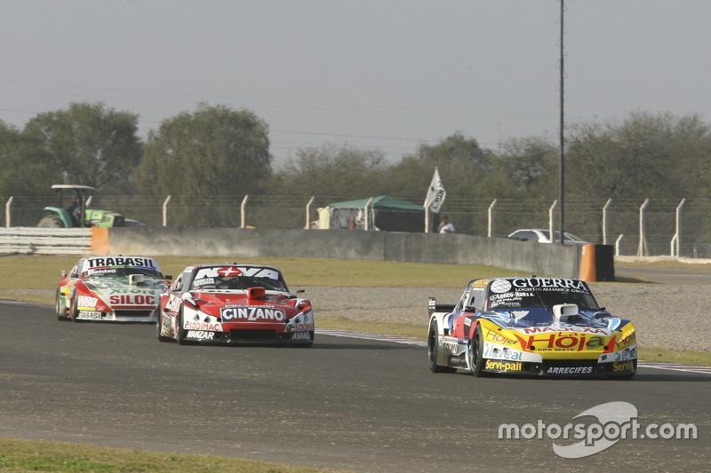Luis Jose di Palma, Inde car Racing Torino, dan Matias Rossi, Donto Racing Chevrolet, dan Mariano Altuna, Altuna Competicion Chevrolet