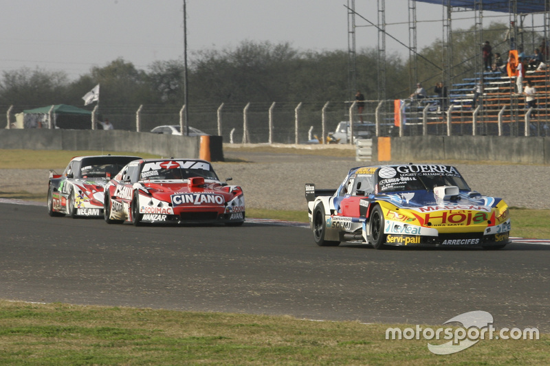 Luis Jose di Palma, Inde car Racing Torino, dan Matias Rossi, Donto Racing Chevrolet, dan Norberto Fontana, Laboritto Jrs Torino