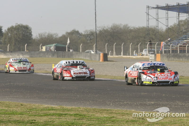 Guillermo Ortelli, JP Racing Chevrolet and Pedro Gentile, JP Racing Chevrolet and Mariano Altuna, Altuna Competicion Chevrolet