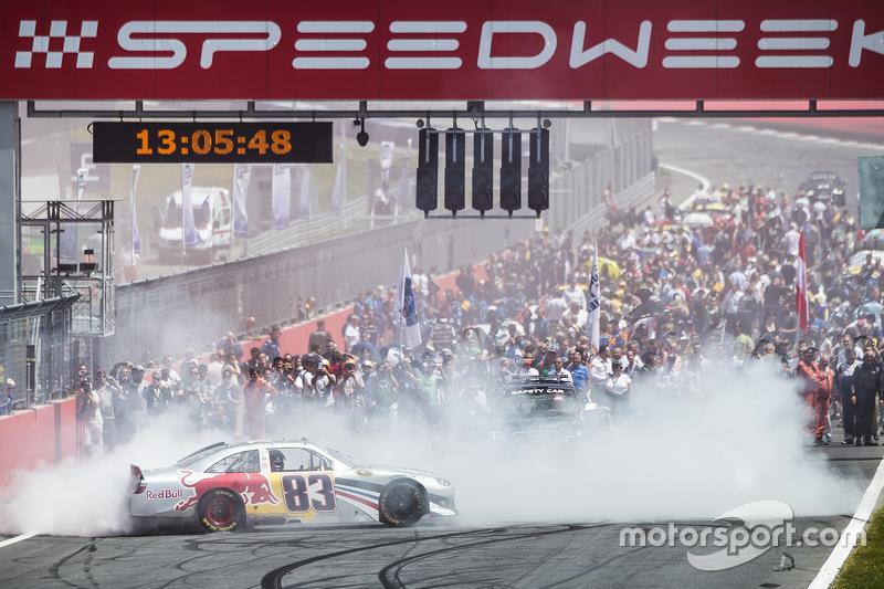 Red Bull NASCAR pre-race activities