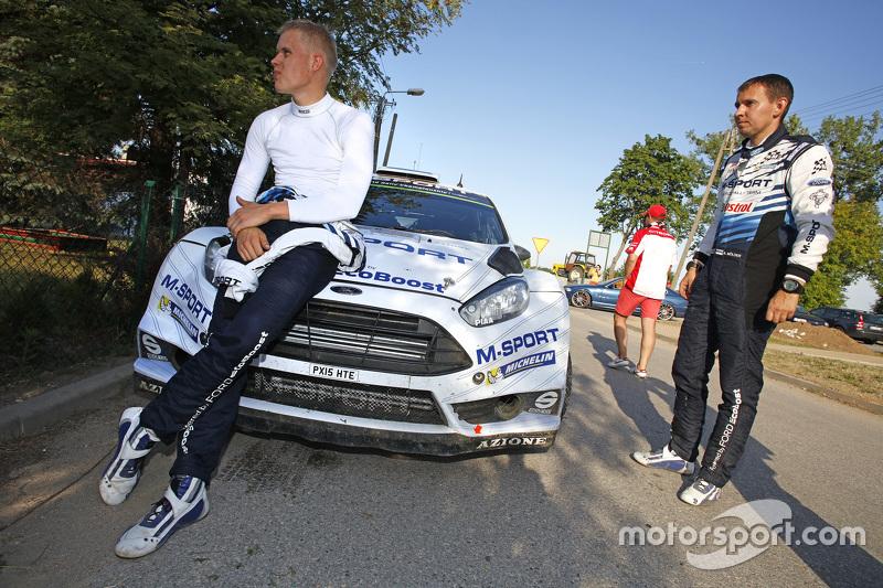 Отт Тянак и Райго Мыльдер, Ford Fiesta RS WRC, M-Sport WRT
