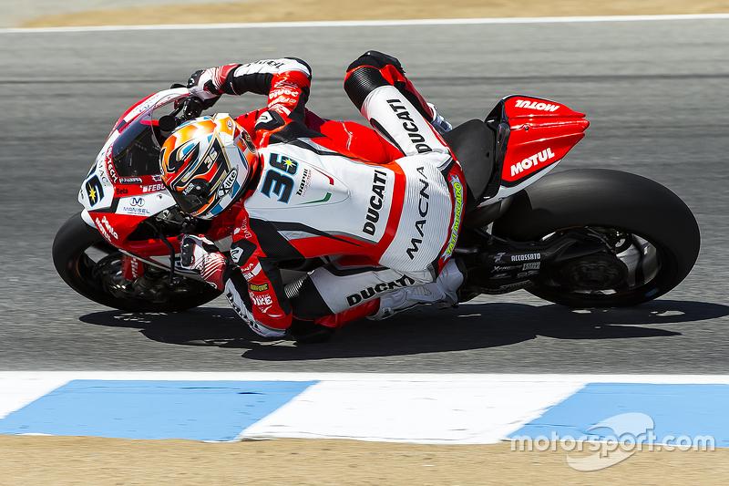 Leandro Mercado, Barni Racing Team Ducati