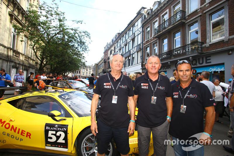 #52 AF Corse Ferrari 458 Italia: Adrien de Leener, Cedric Sbirrazzuoli, Raffaelle Gianmaria, Тоні Віландер