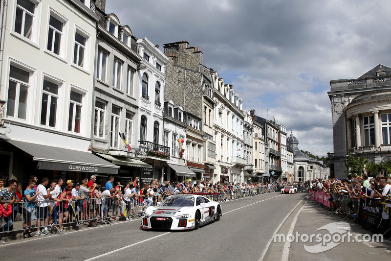 #6 Phoenix Racing Audi R8 LMS: Андре Лоттерер, Марсель Фаслер, Майк Роккенфеллер