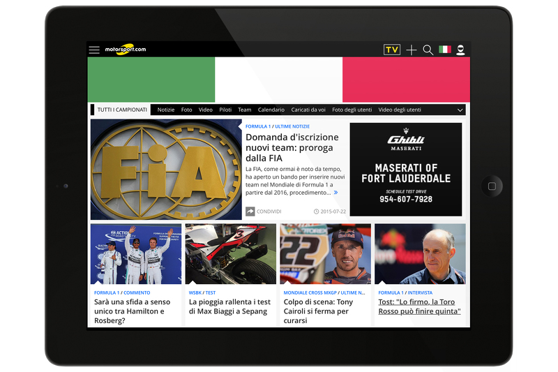 Motorsport.com - ITALY скріншот