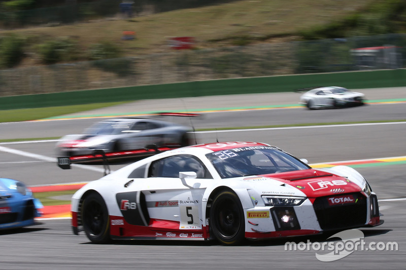 #5 Phoenix Racing Audi R8 LMS: Christian Mamerow, Крістофер Міс, Нікі Тіім