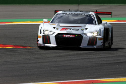 #2 Belgian Audi Club Team WRT Audi R8 LMS: Frank Stippler, Стефан Ортеллі, Ніко Мюллер