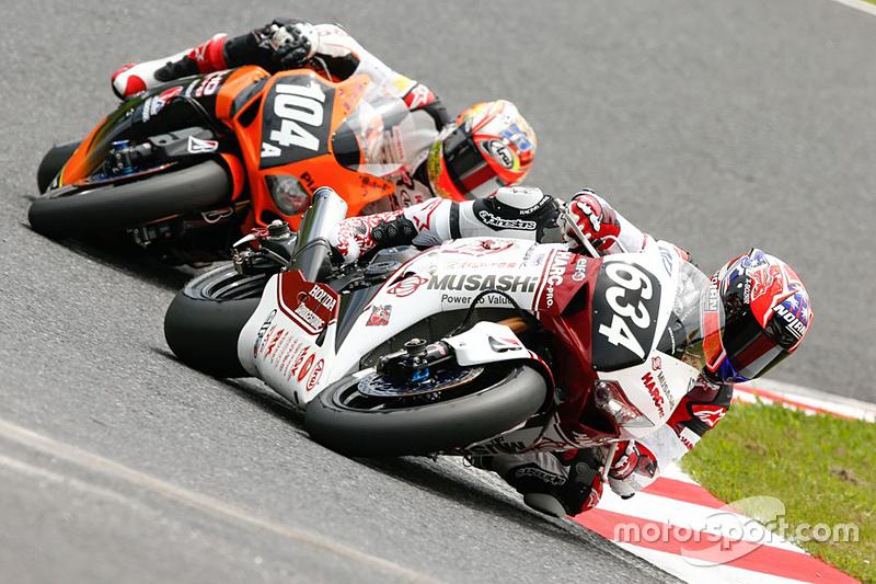 #634 Honda: Takumi Takahashi, Майкл ван дер Марк, Casey Stoner