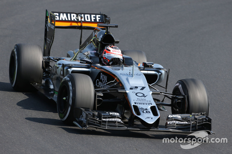 Ніко Хюлкенберг, Sahara Force India
