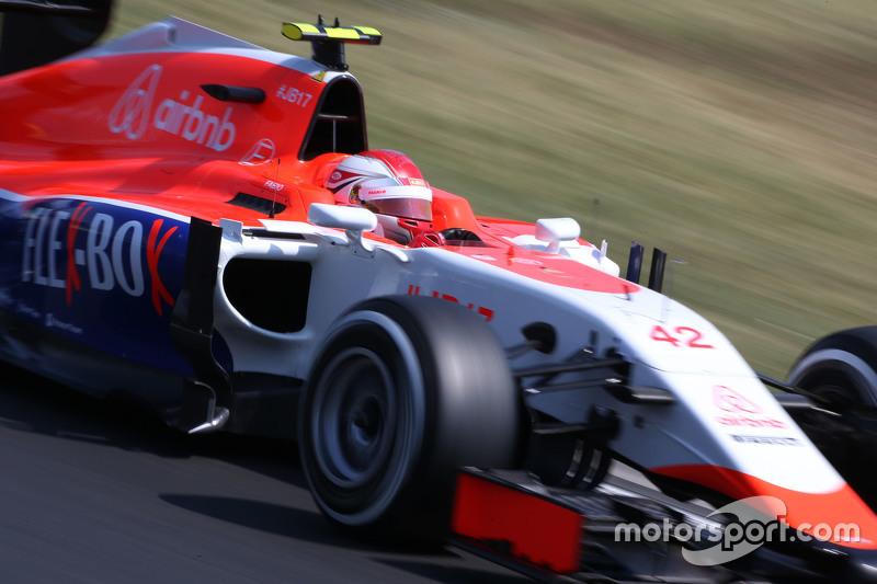 Fabio Leimer, Manor F1 Team